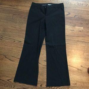 Gap perfect trouser black pant size 4R